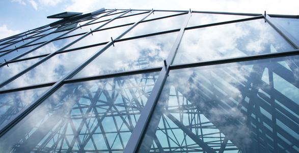 Slika ALU steklene fasade