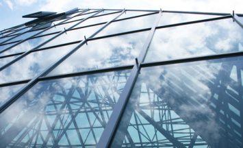 Slika reference ALU steklene fasade - Piramida v Medvodah