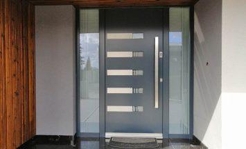 ALU vhodna vrata Grading Trebnje