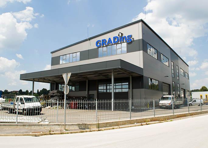 Proizvodnja hala steklarstva Grading